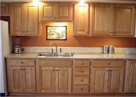 kitchen cabinets and lights